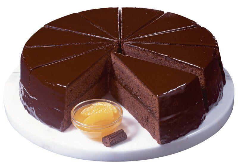 ¿Cómo es el pastel Sacher?