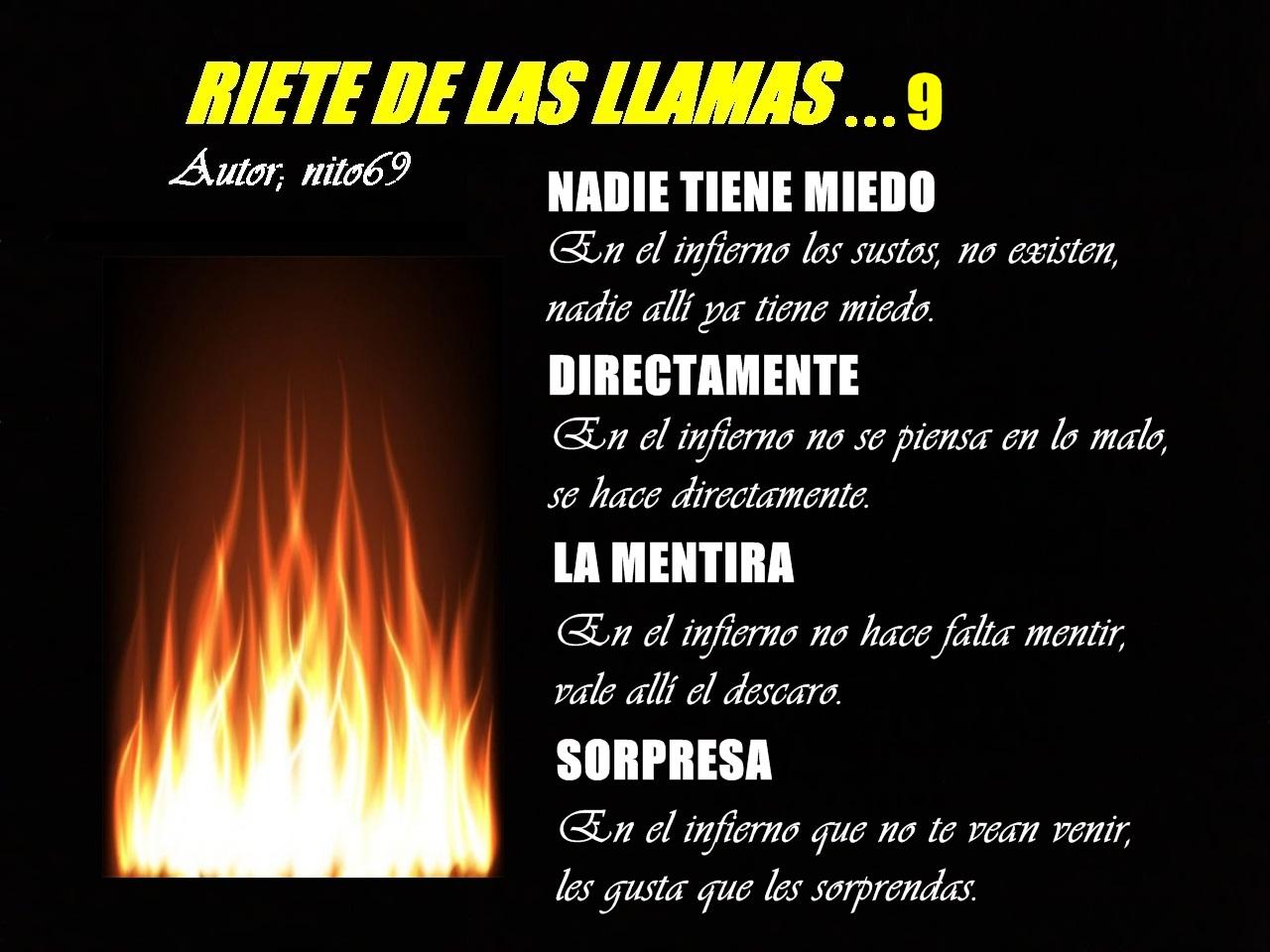 RIETE DE LAS LLAMAS…9