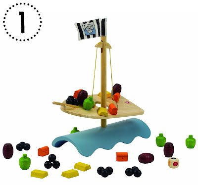 Mommy Testers Hape Stormy Sea Balance Game, Hape Pirate Ship Toy, Hape Stormy Seas Balance Game Review
