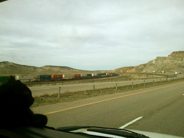 I-80 Road trip through Wyoming
