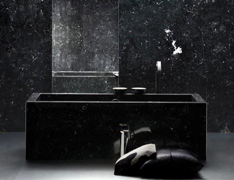 Black Bathroom Designs