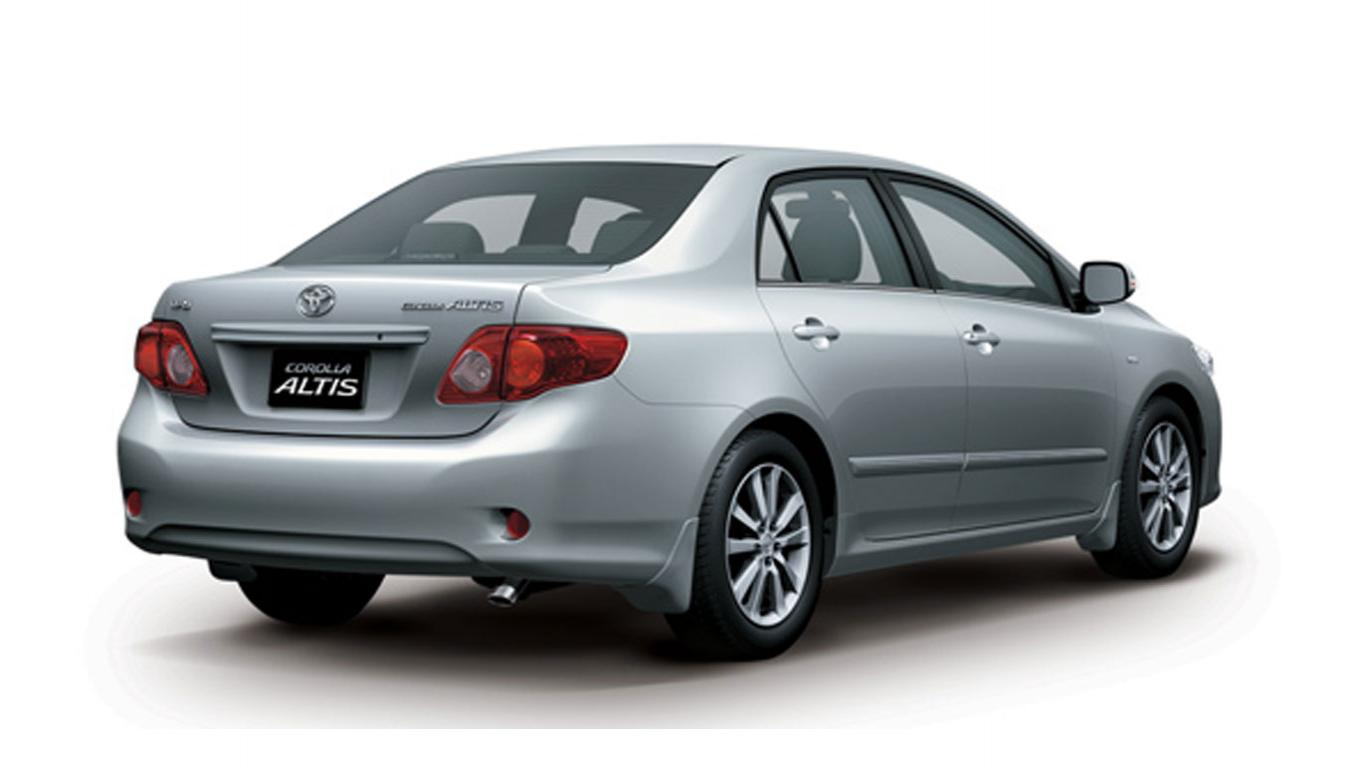 Car Collection Toyota Altis Facelift