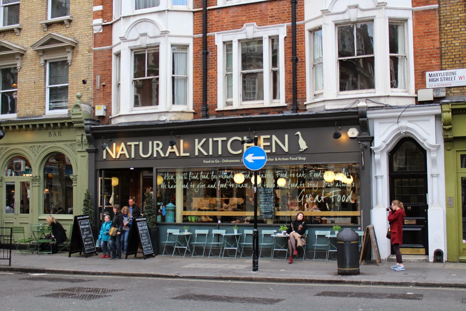 London free wifi study spots Natural Kitchen