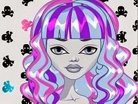 Monster High Ghoulia Yelps juego de peinar