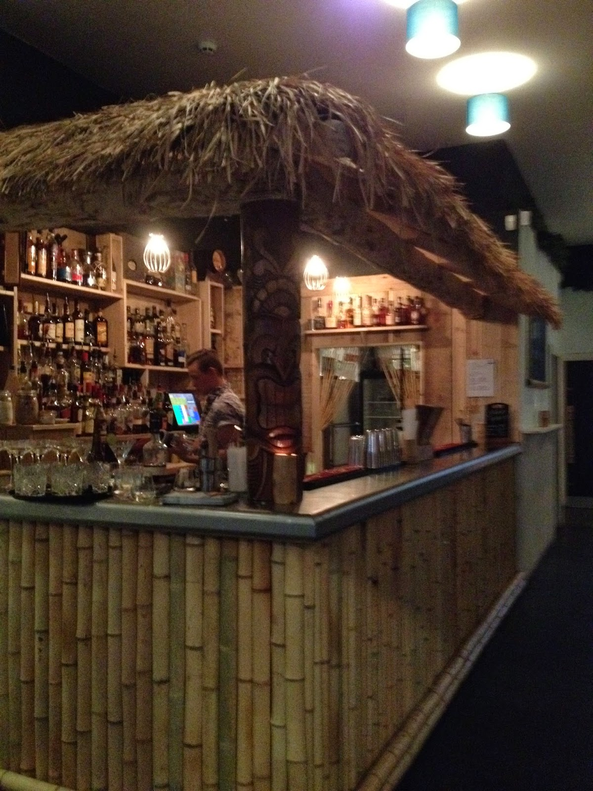 The bar - just look at that rum selection! & Bamboo Door: Rum Club launch night | Mashtun and Meow: Sheffield ...