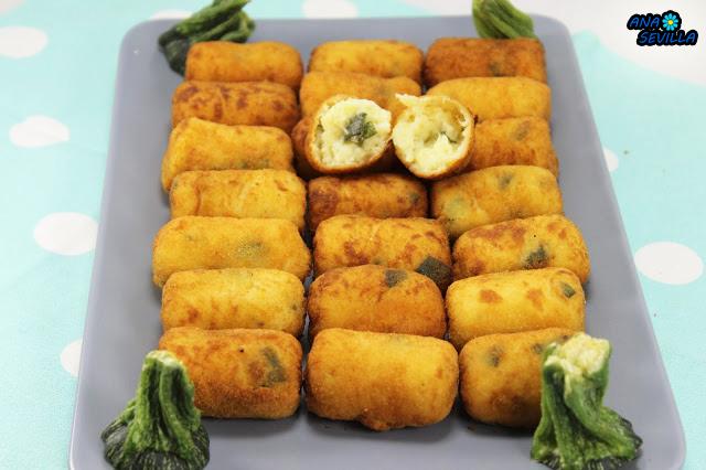 Que Cocinar Con Calabacin | Croquetas De Calabacin