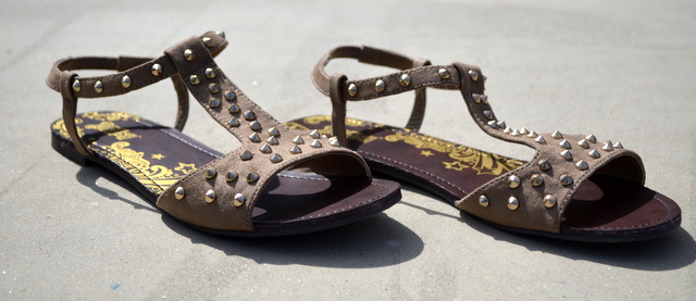 Brash by Payless Shoes, Royalty sandals in tan