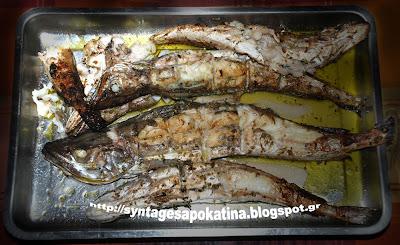 μπακαλιάρος ψητός με λαδολέμονο http://syntagesapokatina.blogspot.gr