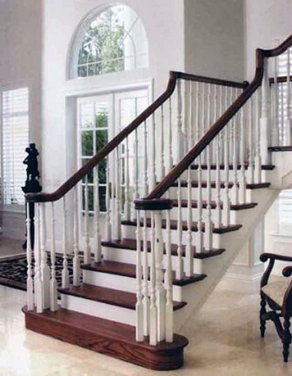 Gambar Desain Tangga Rumah Klasik