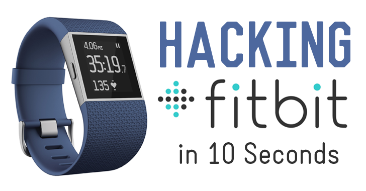 Hacking Fitbit Trackers Wirelessly in 10 Seconds
