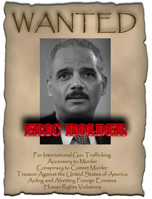 someone smacking eric holder