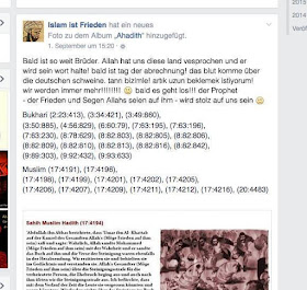 Screenshot aus einem Facebook-Posting. Quelle anonym.