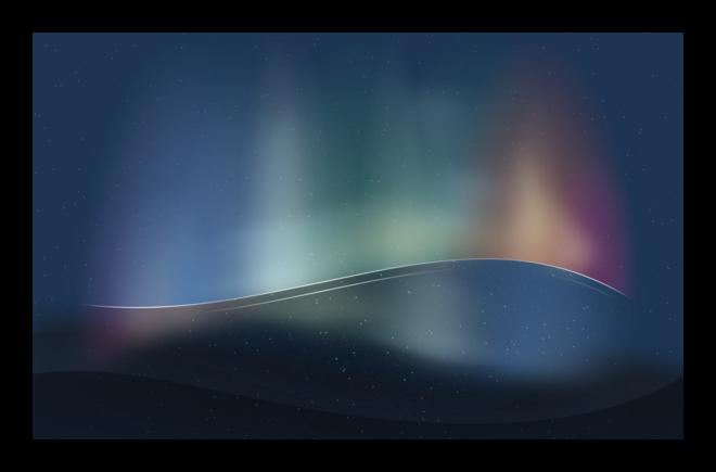 Kde inside nuovi sfondi per plasma next iwinuxfeed for Aurora boreale sfondo