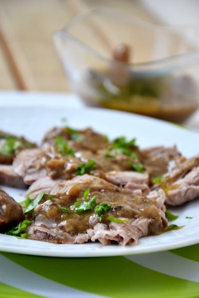 carne di vitello ai funghi