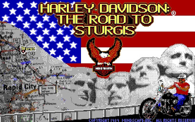 Harley Davidson The Road to Sturgis