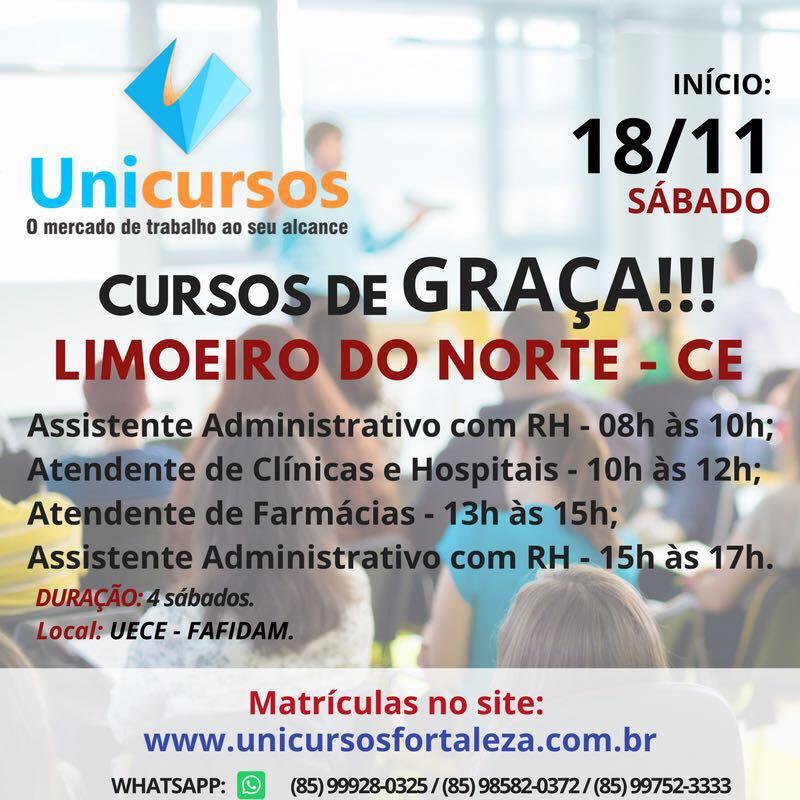CURSOS DE GRAÇA