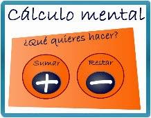 CÁLCULO MENTAL. SUMAS Y RESTAS