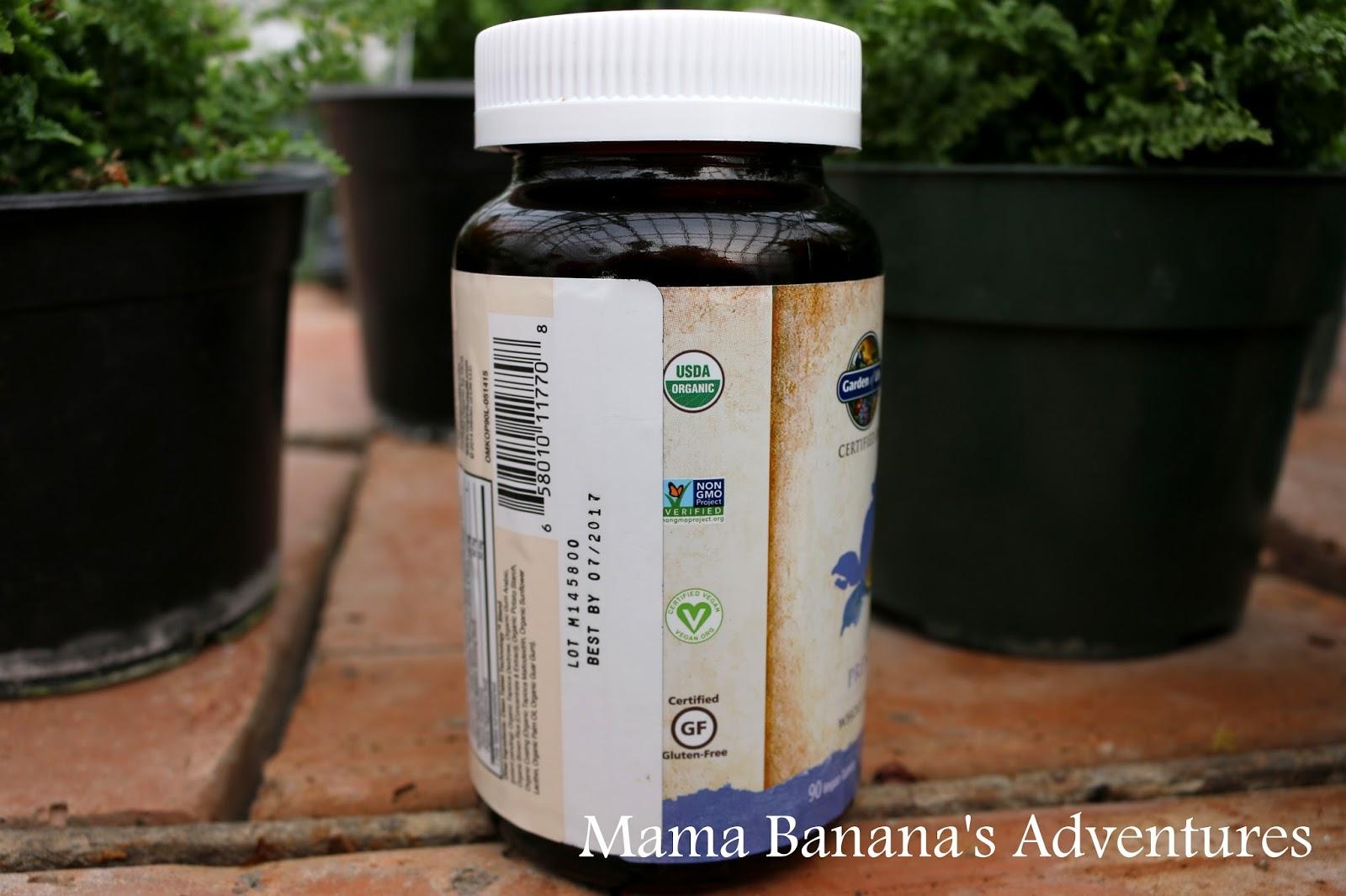 Garden Of Life Mykind Organics Prenatal Review Mama Banana 39 S Adventures