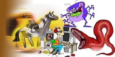 6 Gejala Komputer atau PC Terinfeksi Virus