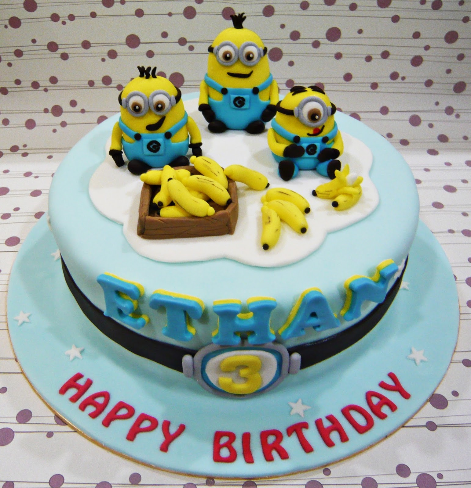 Easy minion cake images bjaydev for pinterest the baditri Image collections