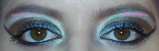 Ravenclaw eye look