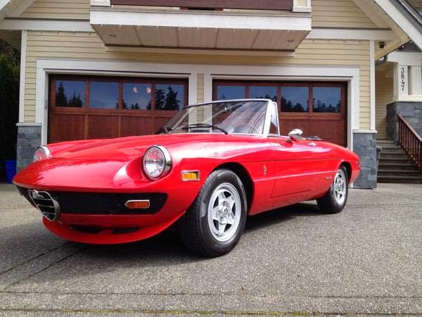 1980 alfa romeo spider custom sport convertible coupe | auto