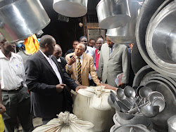Vision 2030 top team visiting Kamukunji MSE 2dn May 2012