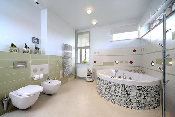Dupa cum se stie aceasta amenajare de baie mare a fost renovara si amenajata la apartament la bloc si cea dea 2 poza la casa..Profita de aceste imagini cu bai moderne si mobilier la comanda