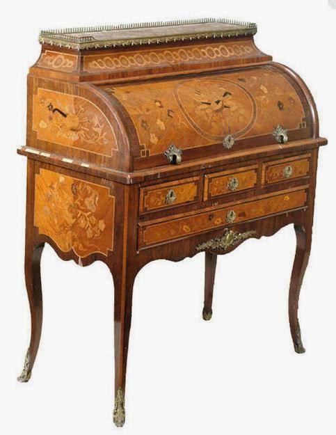 Conservar muebles antiguos - Mueble secreter ...
