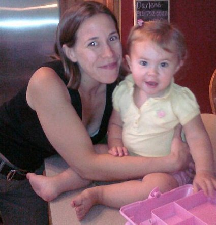 Mommy + Lucy + Caboodle!