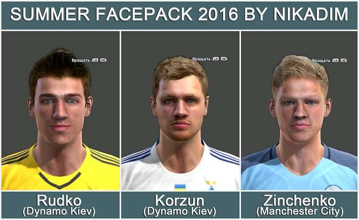 Summer Facepack 2016 Pes 2013 By Nikadim