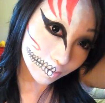 Como hacer un maquillaje de halloween para mujer paso a paso