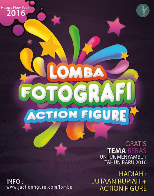Lomba Fotografi Action Figure