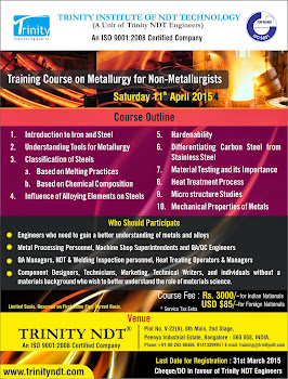 Metallurgy for Non-metallurgists Course on 11th Apr' 2015
