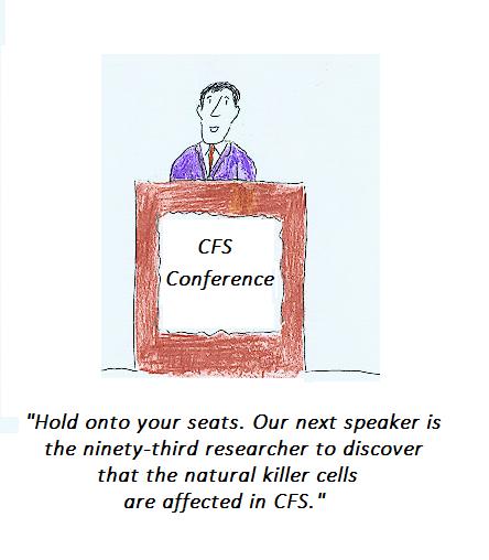 cartoon, cfs, natural killer cells, nih, cdc