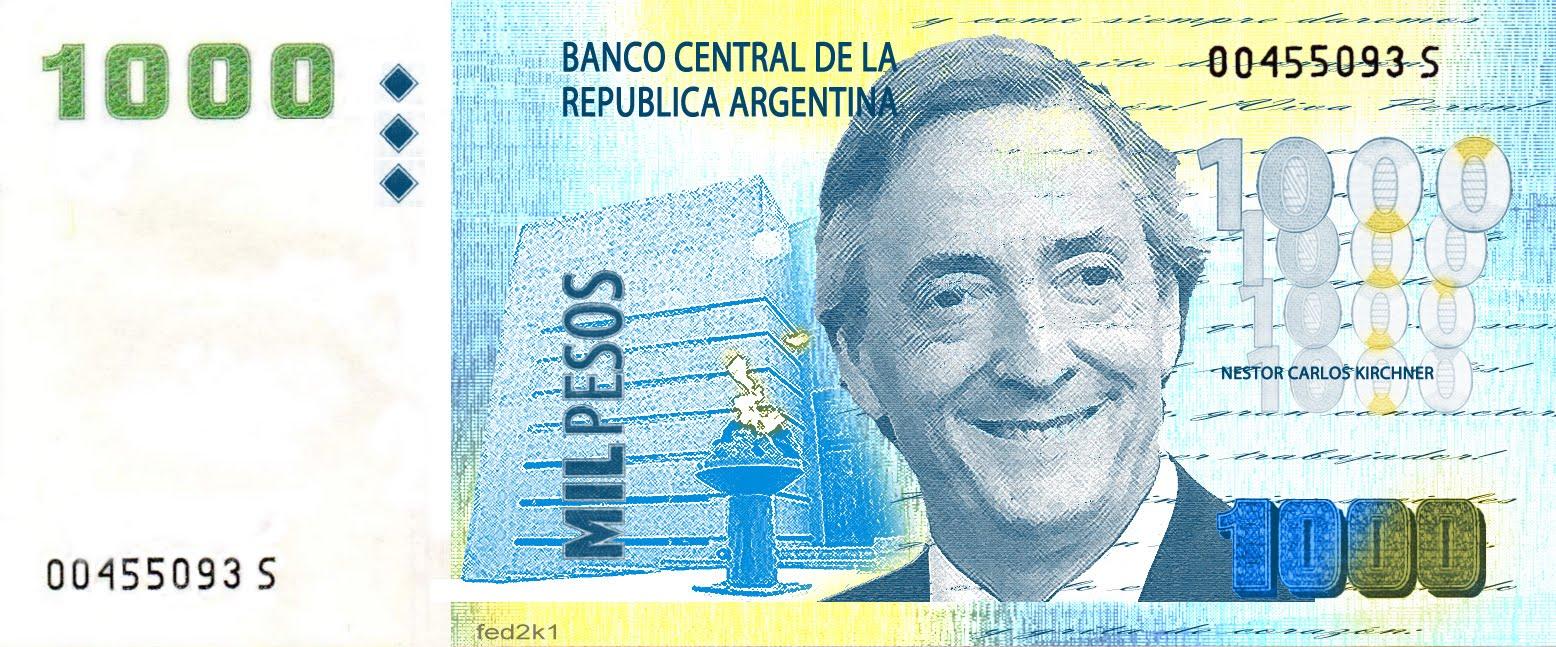 Los Nuevos Billetes Argentinos