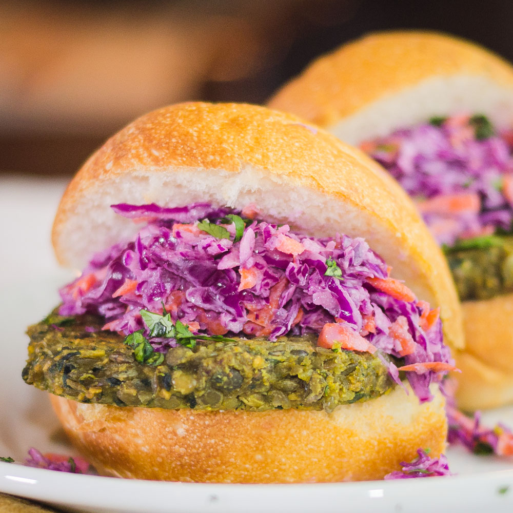 Curried Lentil Burgers - Simple Awesome Cooking | A Foodblog from ...