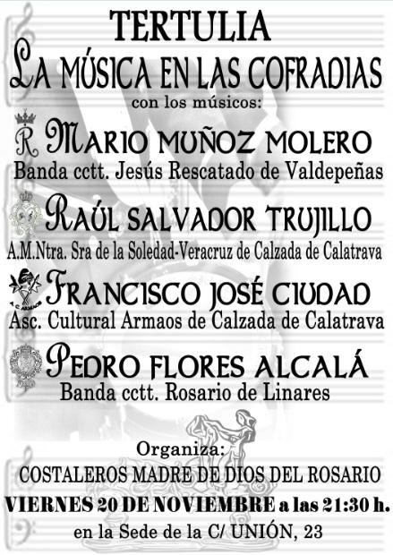 Tertulia La Muscia en las Cofradias