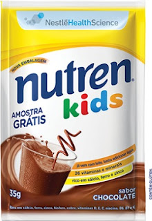 Amostra Grátis Nutren Kids Nestlé