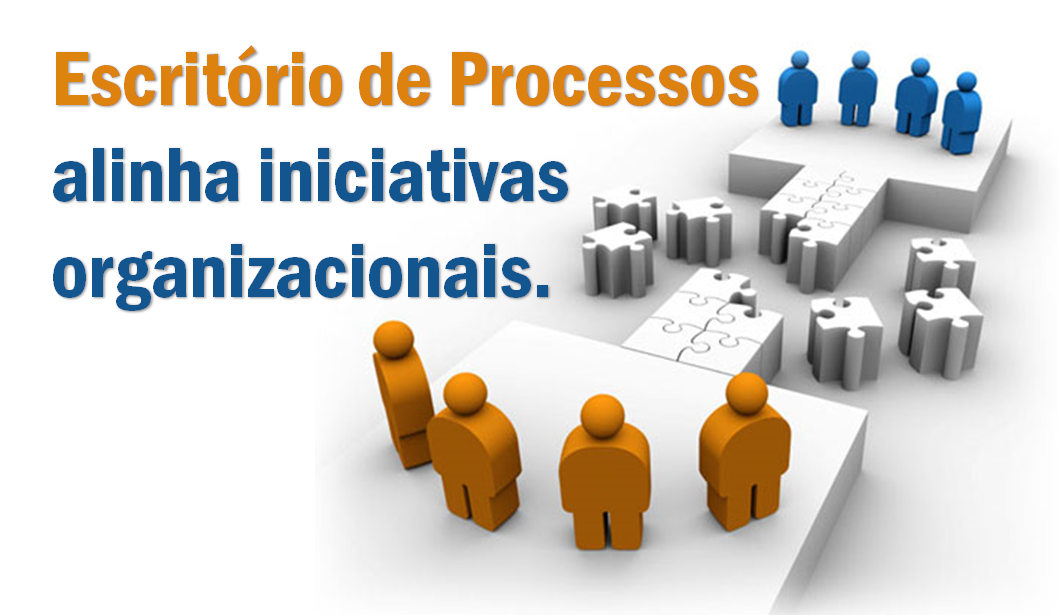 Escritório de Processos alinha iniciativas organizacionais.
