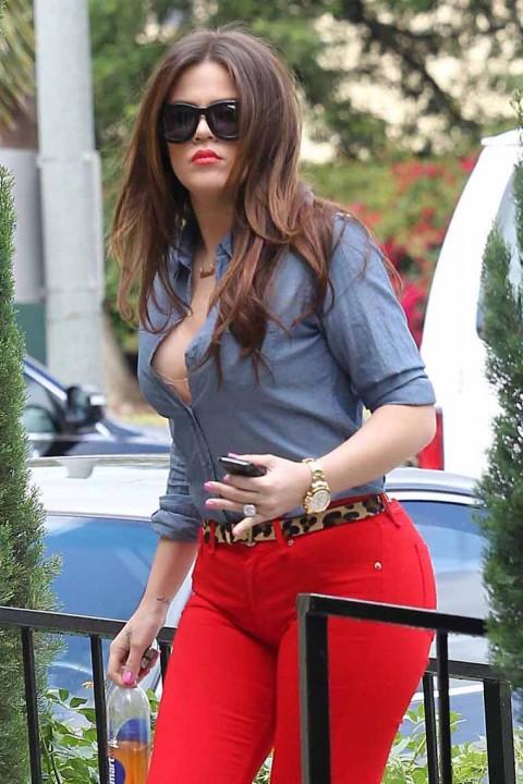 Last week, Khloe Kardashian-Odom was spotted going into DASH in ...
