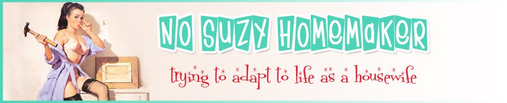 No Suzy Homemaker