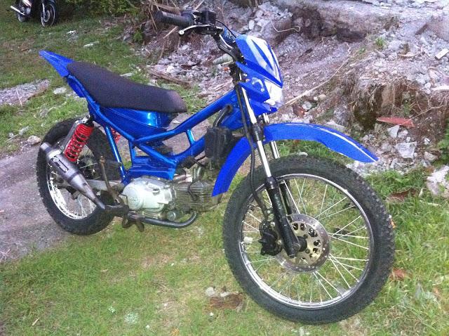 Biaya Modifikasi Yamaha Vixion Jadi Trail