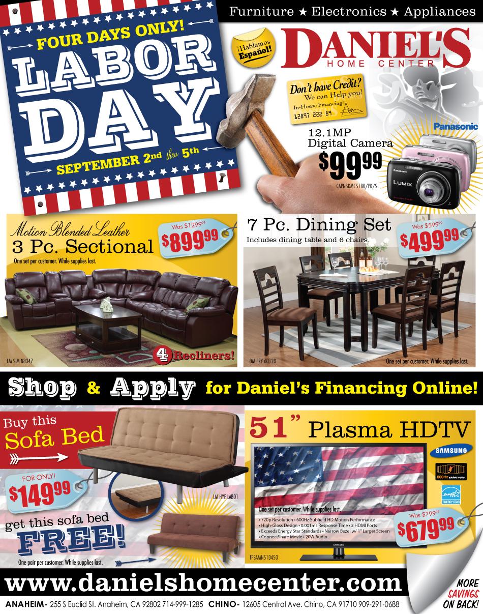 A furniture store labor day sale ad 2011 designed by a for Labor day sale furniture