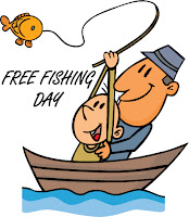 Today is free fishing day in texas public waters no for How much is a texas fishing license