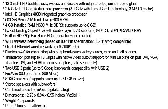Apple Laptops Reviews