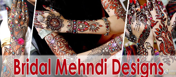 Bridal Mehndi - Embroidered Mehndi