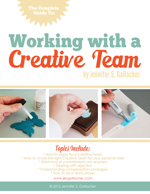 """Working with a Creative Team"" Ebook by Jennifer S. Gallacher available here: http://jen-gallacher.mybigcommerce.com/working-with-a-creative-team-ebook/"