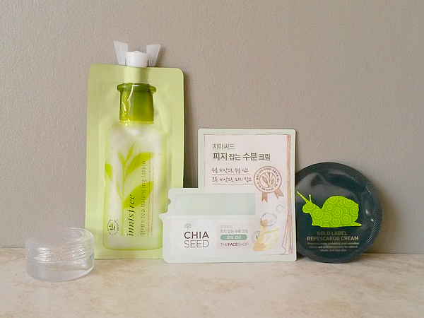 echantillon-soin-asiatique-innisfree-hadalabo-face-shop-shara-shara-snai
