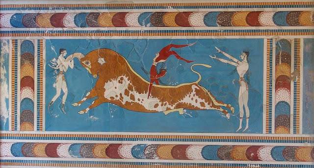 Toreador Fresco - Knossos | Querido Bestiário